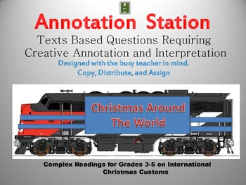 Christmas: Annotation Station