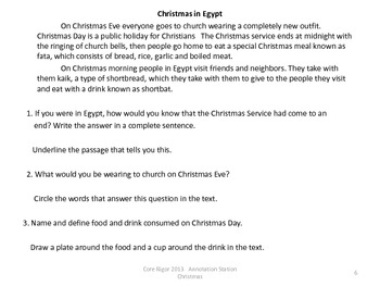Christmas: Annotation Station