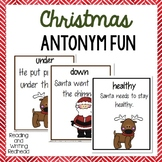 Christmas Antonym Fun