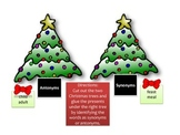 Christmas Antonyms and Synonyms Sort