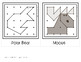 Christmas & Arctic Animals Geoboard Task Cards