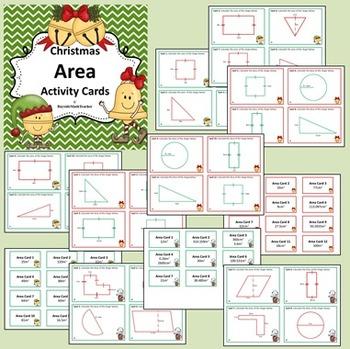 Christmas Area Activity Cards
