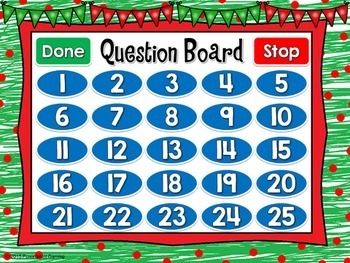 Christmas Area Powerpoint Game