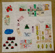 Christmas Area and Perimeter Map Project-UK English Version