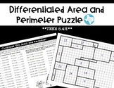 Christmas: Area and Perimeter Puzzle (TEKS 5.4H)