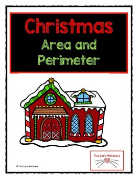 Christmas Area and Perimeter of Rectilinear Shapes