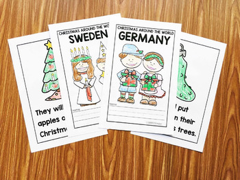 Christmas Around the World Books for Little Learners - Set 1