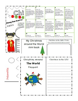 Christmas Around THE WORLD unit (great for EL students)