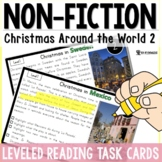 Christmas Around the World Passages 2: Leveled Task Cards