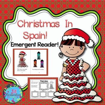 Christmas Around The World Spain Emergent Reader