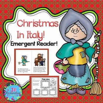 Christmas Around The World Italy Emergent Reader