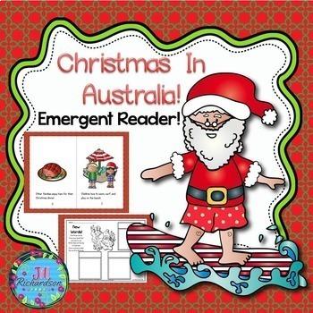 Christmas Around The World Australia Emergent Reader Christmas In Australia