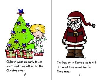 Christmas Around The World USA Emergent Reader