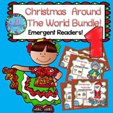 Christmas Around The World Unit Emergent Readers Bundle 1! Christmas ESL