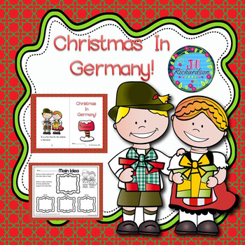 Christmas Around The World Germany  (Emergent Reader Christmas in Germany)
