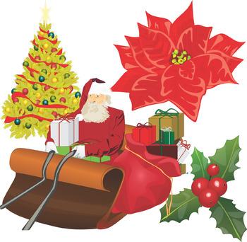 Christmas Around The World Clip Art