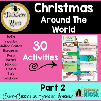 Christmas Around The World: Thematic Unit Part Two