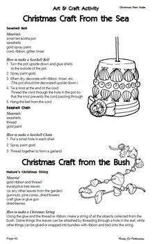 Christmas Around The World - Activities & Research for 8 - 12 Year Olds