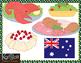 Christmas Around The World Australia/England Clip-Art
