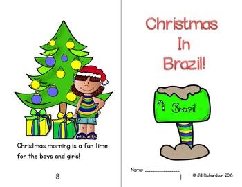 Christmas Around The World Brazil Emergent Reader