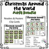 Christmas Around The World Bundle (Readers, Clip Cards, Posters)