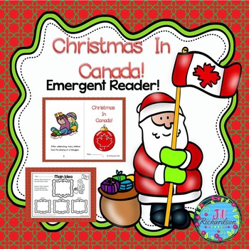 Christmas Around The World Canada Emergent Reader