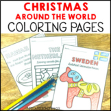 Christmas Coloring Pages I Holidays Around the World