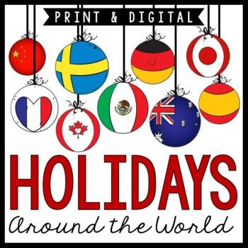 Christmas Around The World Interactive No-Prep Unit