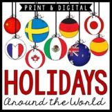 Holidays Around the World / Christmas Around the World / No-Prep Unit