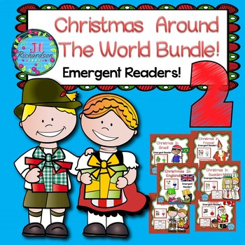 Christmas Around The World Emergent Readers Bundle 2!