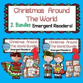 Christmas Around The World Emergent Readers Big Bundle (Bu