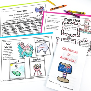 Christmas Around The World Emergent Readers Big Bundle (Bundles 1 and 2!)