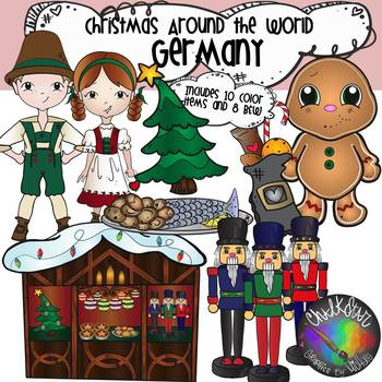 Christmas Around The World Germany Clipart