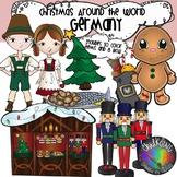 Christmas Around The World Germany Clip Art- Chalkstar Graphics