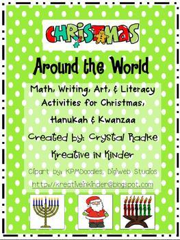 Christmas Around The World, Gingerbread, & Snowman Units BUNDLE!!