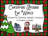 Christmas Around The World, Hanukkah, & Kwanzaa Literacy & Math Unit