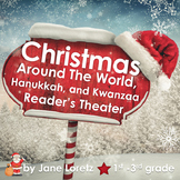 Christmas Around The World, Hanukkah, Kwanzaa Reader's Theatre and Activities