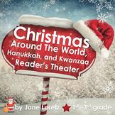 Christmas Around The World, Hanukkah, Kwanzaa Reader's The