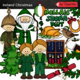 Christmas Around The World-Ireland Clip Art