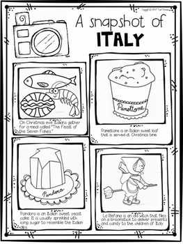 Christmas Around The World {Italy} FREEBIE