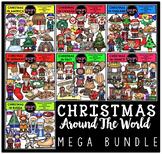 Christmas Around The World Clip Art Mega Bundle {Educlips Clipart}