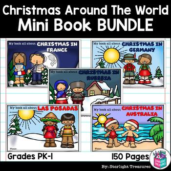 Christmas Around The World Mini Book Bundle for Early Readers