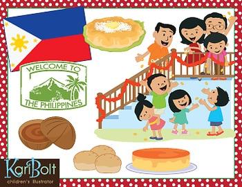 Christmas Around The World Philippines Clip Art