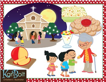 christmas around the world philippines clip art by kari