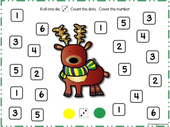 Christmas Around The World Roll and Cover SMART Board