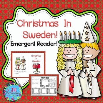 Christmas Around The World Sweden (Emergent Reader Christmas in Sweden)