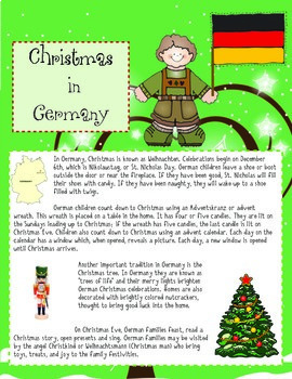 Christmas Around The World Thematic Unit Part One