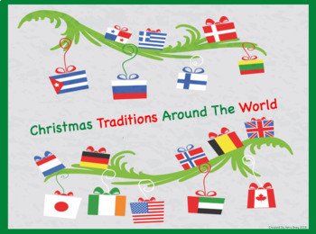Christmas Traditions Around The World.Christmas Traditions Around The World Inferencing Powerpoint Slideshow