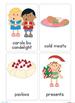 Christmas Around The World Vocabulary Cards - 76 Cards
