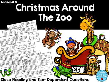 Christmas Reading Around the Zoo